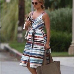 Moulinette Soeurs Afterlight Dress Stripe A-line